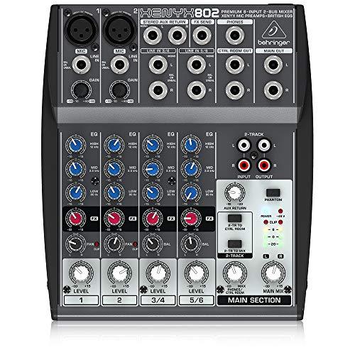 35 Migliori Audio Mixer nel 2021: secondo gli esperti